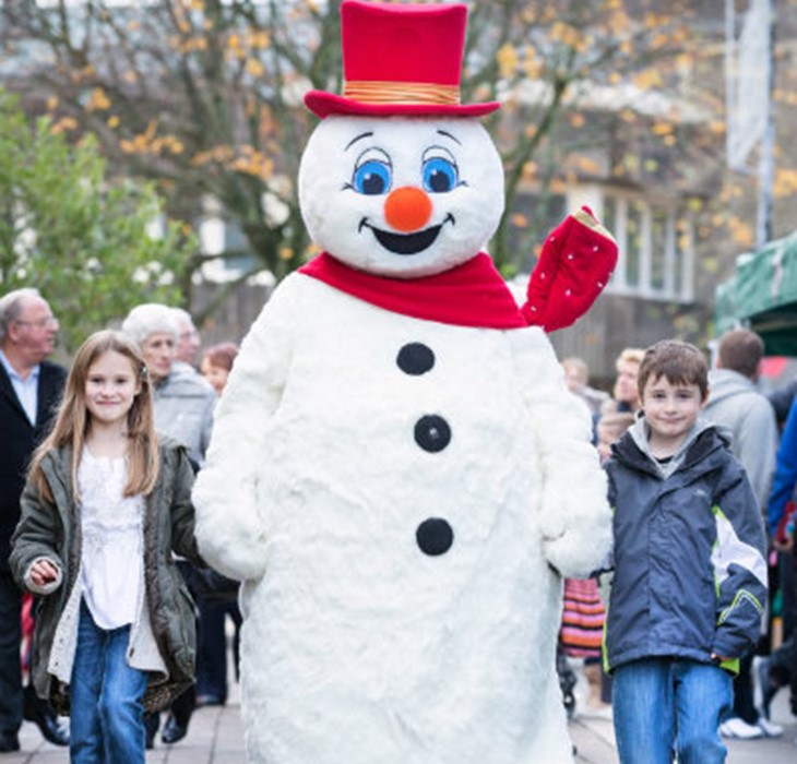 Festive Fun at St Tydfil's Shopping Centre