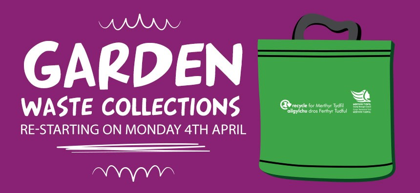 Garden Waste collections re-starting