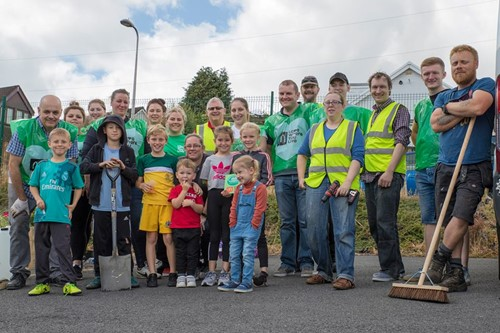 Community spurred into action in McDonald's-backed makeover