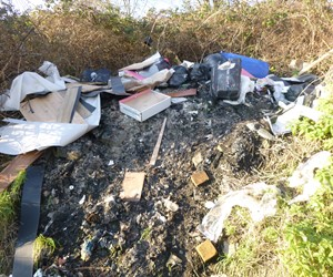 Oaklands Terrace Fly Tip