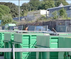 Household waste and recycling centre dowlais