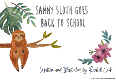Sammy Sloth Goes Back To School Picture